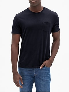 Everyday Crewneck Pocket T-Shirt