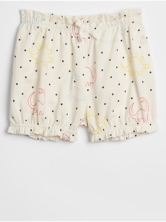 Print Bubble Shorts