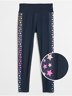 Kids GapFit Star Leggings