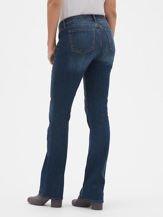 Mid Rise Perfect Bootcut Jeans
