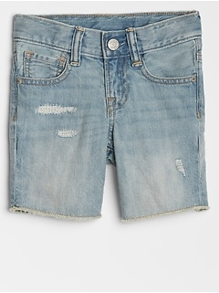 Toddler Denim Five-Pocket Shorts