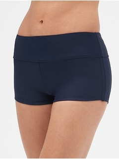 Side-Cinch Swim Shorts