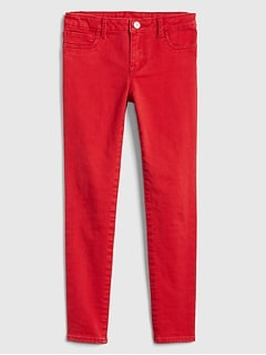Kids Superdenim Jeggings in Color with Fantastiflex