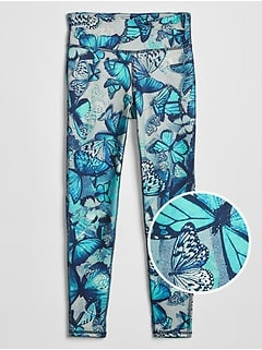Kids GapFit Graphic Leggings