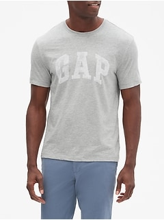 Gap Logo T-Shirt In Slub