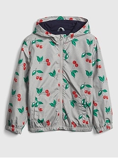 Kids Print Windbreaker