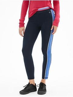 GapFit Stripe Colorblock Leggings