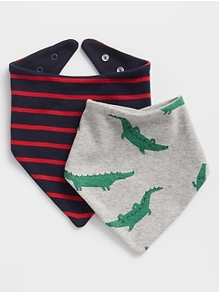 First Favorite Bandana Bib (2-Pack)