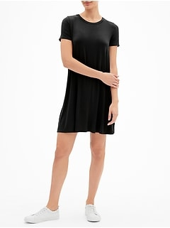 Swing Dress in Rayon