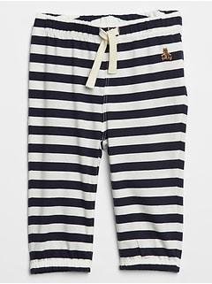 Stripe Pull-On Pants