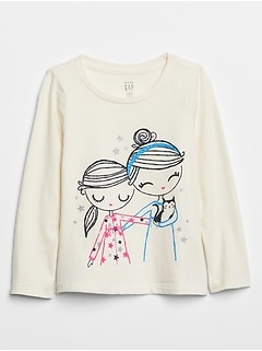 Toddler Graphic Long Sleeve T-Shirt