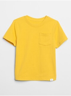 Toddler Short Sleeve Pocket T-Shirt