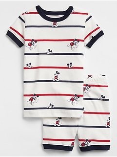 babyGap | Disney Mickey Mouse Short Pajama Set