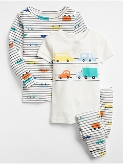 babyGap Car Pajama Set (3-Piece)