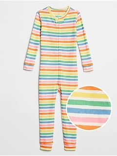 babyGap Stripe Sleep Union Suit