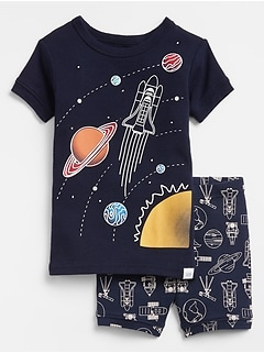 babyGap Space Short Pajama Set
