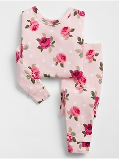 babyGap Rose Pajama Set