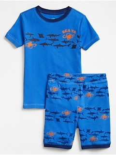 Sea Creature Shorty PJ Set