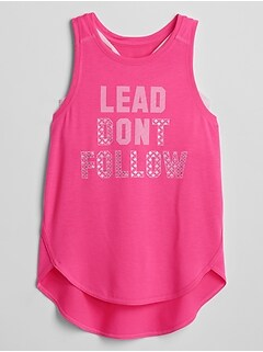 Kids GapFit 2-in-1 Tank Top