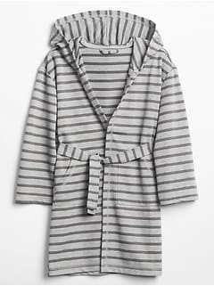 Stripe French Terry Sleep Robe