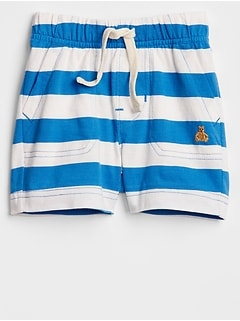 Stripe Jersey Shorts