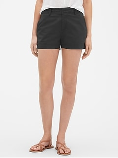 "Mid Rise 3.25"" City Shorts"