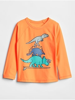Toddler Graphic Long Sleeve Rashguard