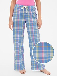 Print PJ Pants in Poplin