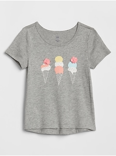 Toddler Embellished Graphic T-Shirt