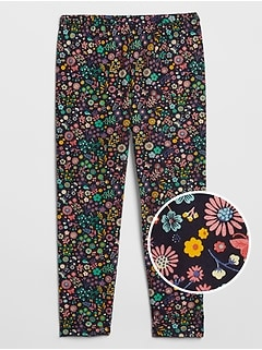 Kids Print Cropped Leggings
