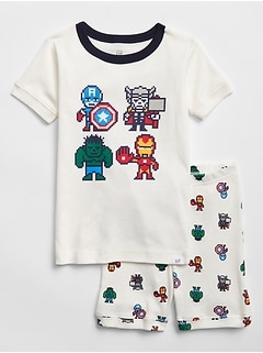 babyGap | Marvel© Short Pajama Set