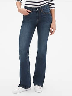 Curvy Mid Rise Perfect Boot Jeans