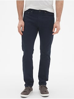 Twill Pants in Slim Stretch with GapFlex
