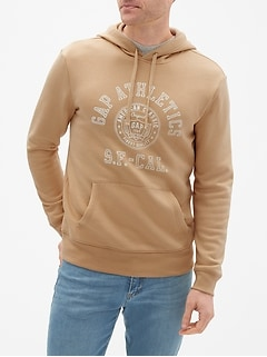 Athletic Gap Logo Pullover Hoodie Sweatshirt