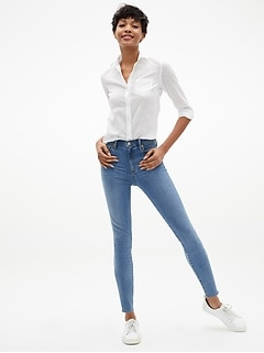 High Rise Legging Jeans