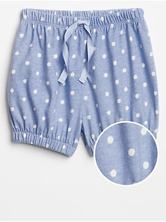 Toddler Print Jersey Bubble Shorts