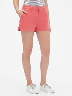 "3"" Mid Rise City Shorts"