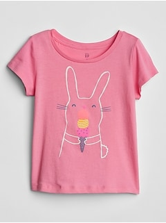 Toddler Graphic Crewneck T-Shirt