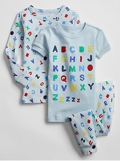 babyGap Alphabet PJ Set (3-Pack)
