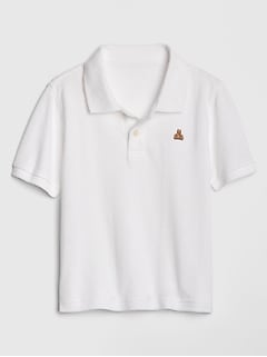 Toddler Short Sleeve Pique Polo