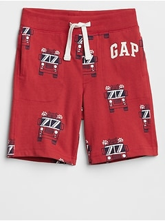 Toddler Print Pull-On Shorts