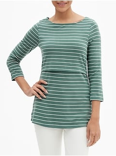 Maternity Nursing Top in Jersey