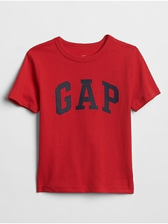 Toddler Gap Logo Short Sleeve T-Shirt