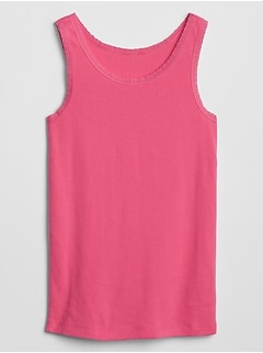 Kids Lace-Trim Tank Top