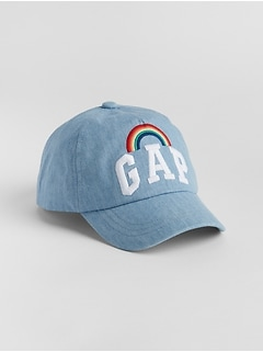 Kids Rainbow Gap Logo Baseball Hat
