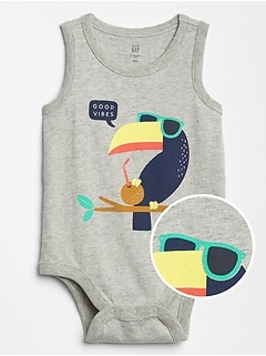 Baby Graphic Tank Bodysuit