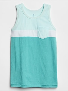 Kids Colorblock Tank Top