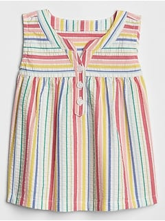 Baby Sleeveless Stripe Top