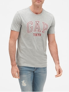 Short Sleeve Gap Logo T-Shirt
