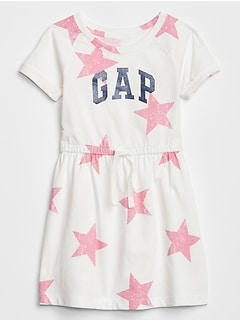 Toddler Print Jersey Dress